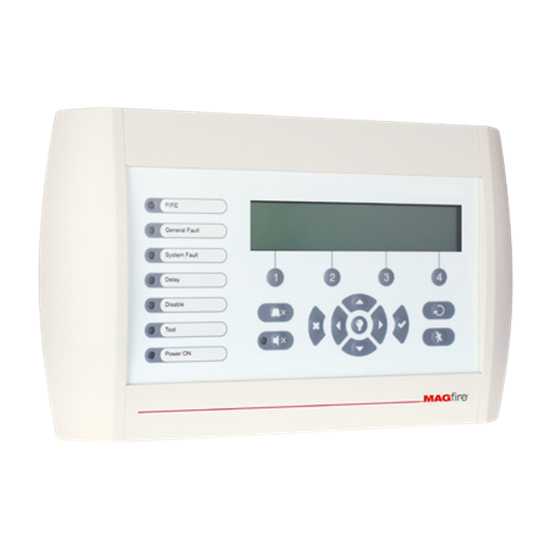 MAGPRO-REP Addressable Repeater Panel