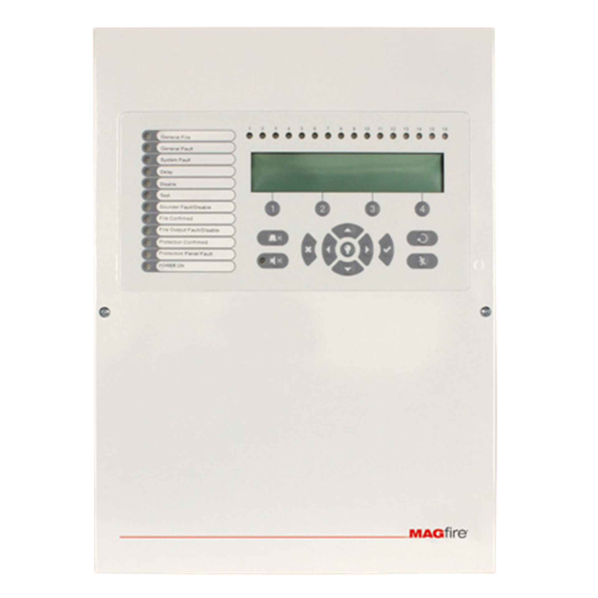 MAGPRO16 Addressable 16 Zone Fire Panel