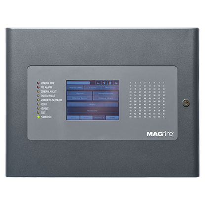 MAGPRO96G Addressable 96 Zone Fire Panel in Graphite Grey
