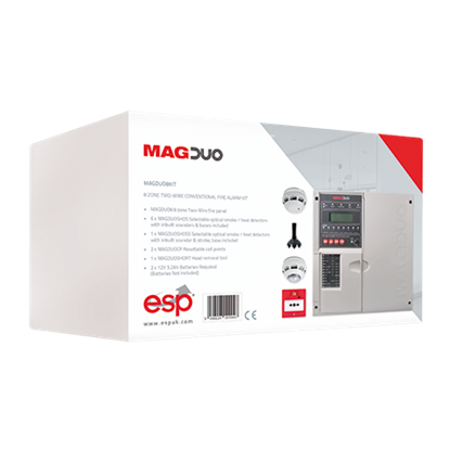 MAGDUO8KIT  8 Zone Two Wire Conventional Fire Alarm Kit