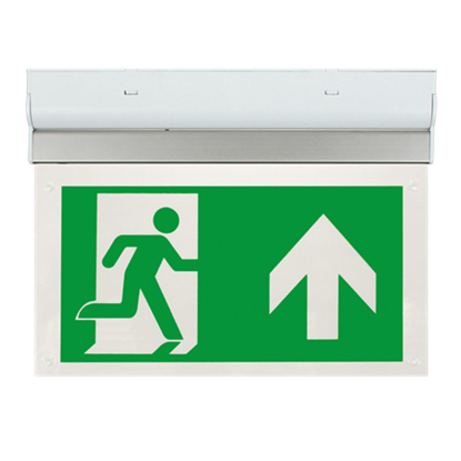 EM2WMEXSIGNU LED 2W Maintained Exit Sign Legend UP