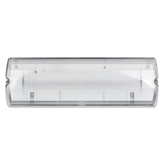 EMLED3WMBULK2 3W LED IP65 Maintained Emergency Bulkhead