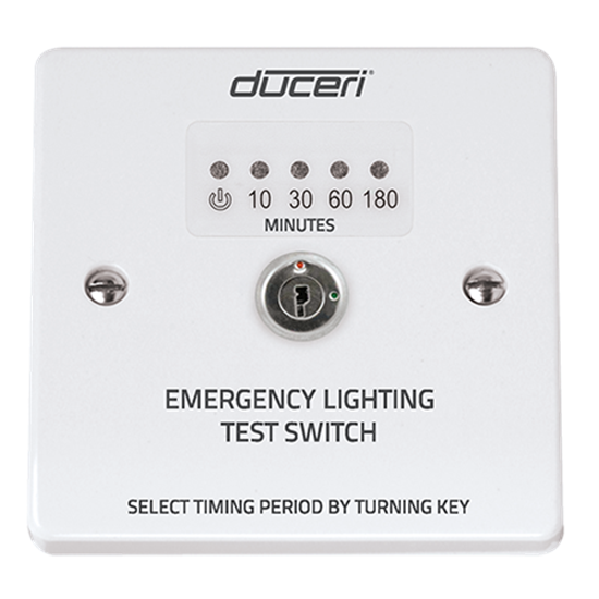 EMTS Emergency Light Test Switch