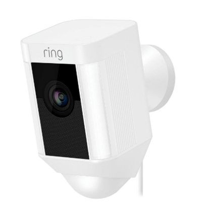 Ring Hardwired Spotlight Cam - White