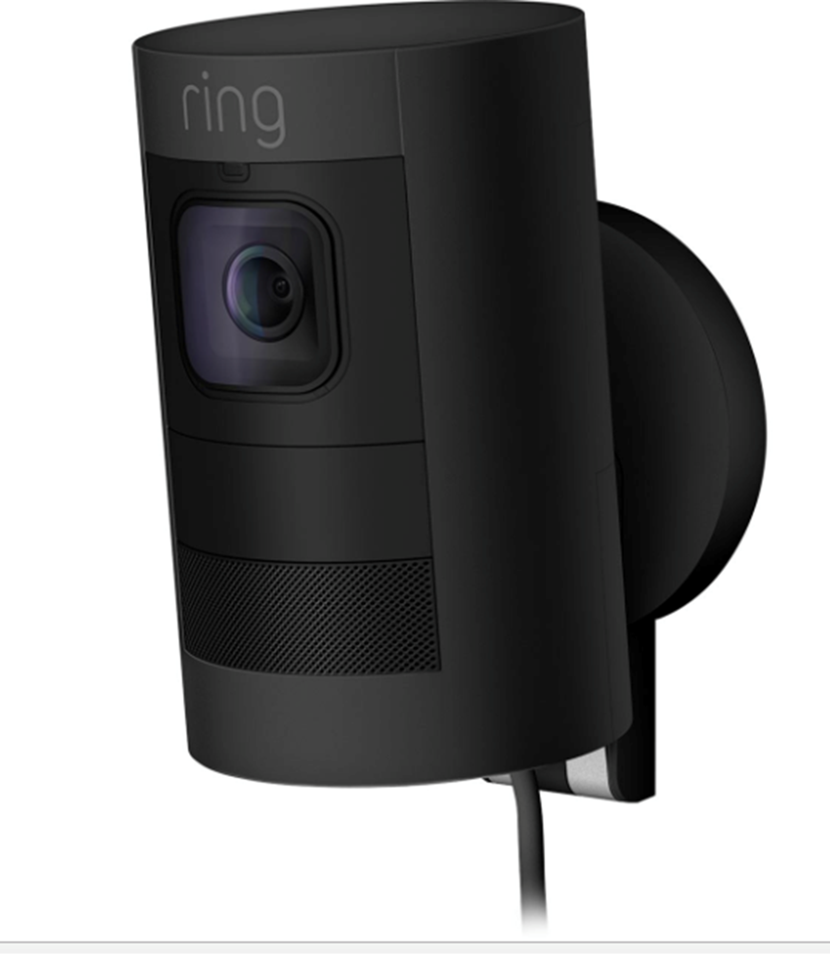Ring Stick Up Cam Wired Black