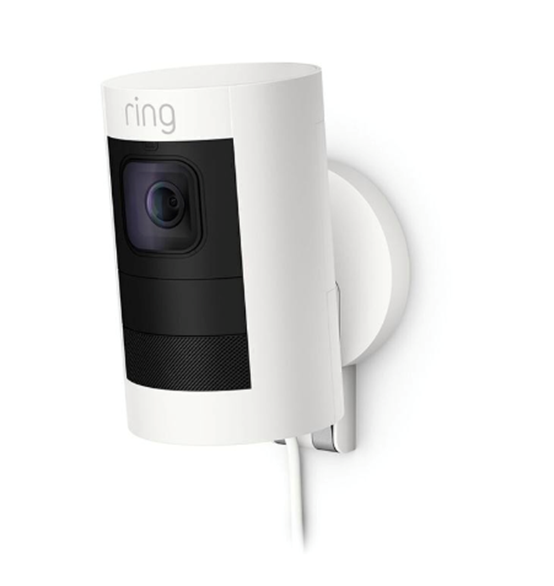 Ring Stick Up Cam Wired White