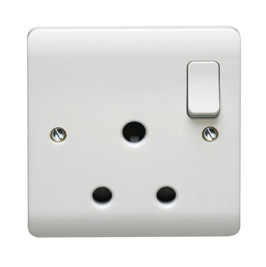 CRABTREE INSTINCT 1G 15A DP SWITCHED SOCKET CR1381