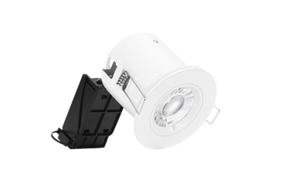 Aurora Enlite EFD PRo Fixed IP65 or Shower GU10 Downlight EN-DLM981X White