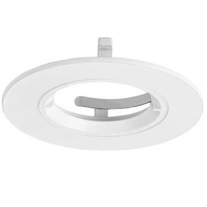 Aurora EFD™ PRO 90MM FIXED MATTE WHITE DOWNLIGHT BEZEL EN-BZ91