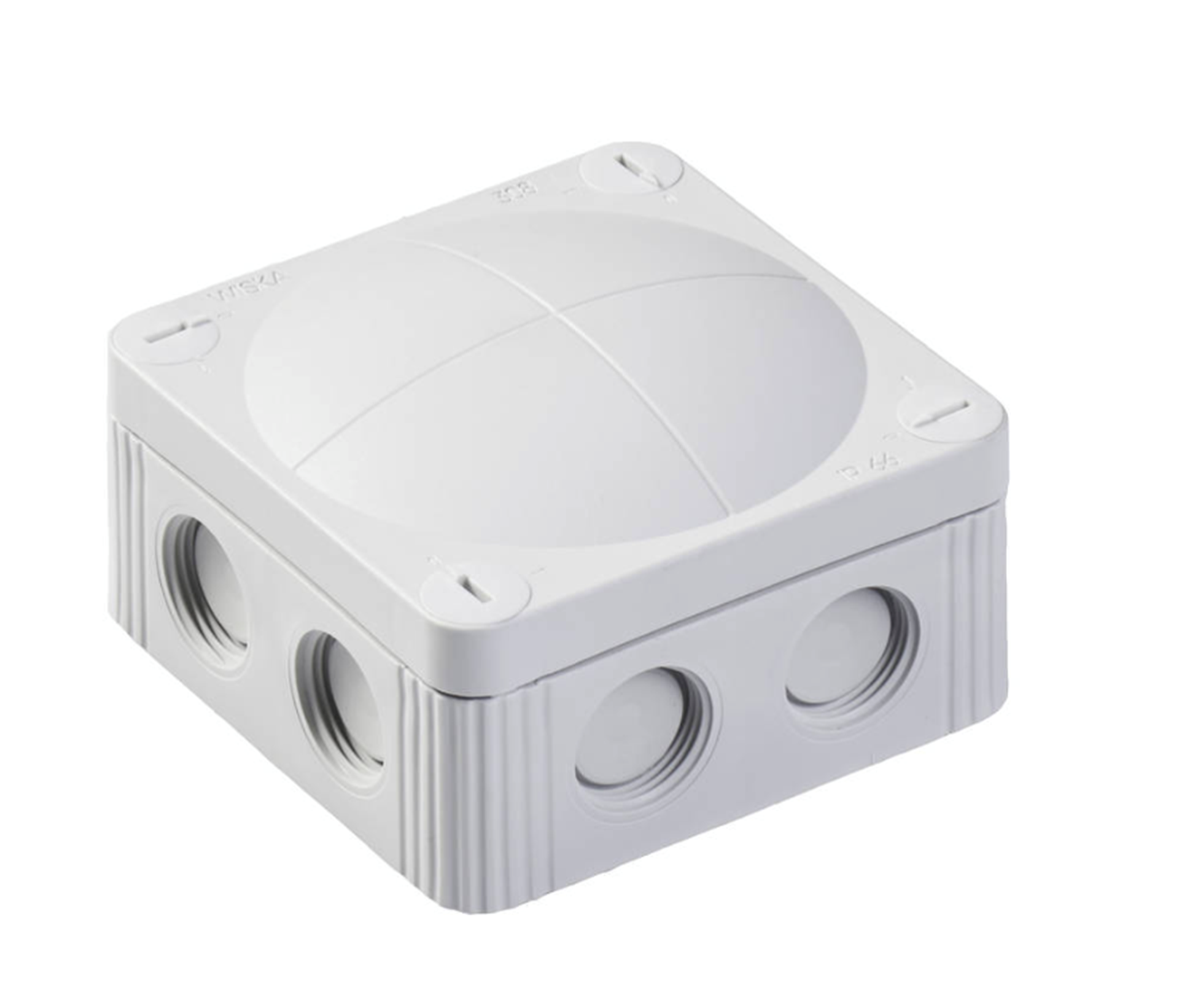 Wiska COMBI 308/5 Junction box Inc. 5 Pole, 32amp connector & mounting clip LG 10060401
